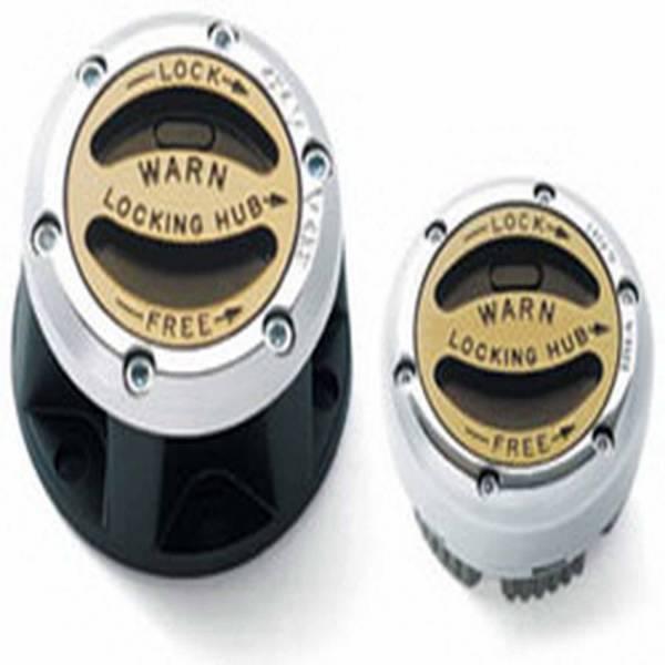 Warn - Warn Manual; 10 Spline; External Mount; Set Of 2 29062