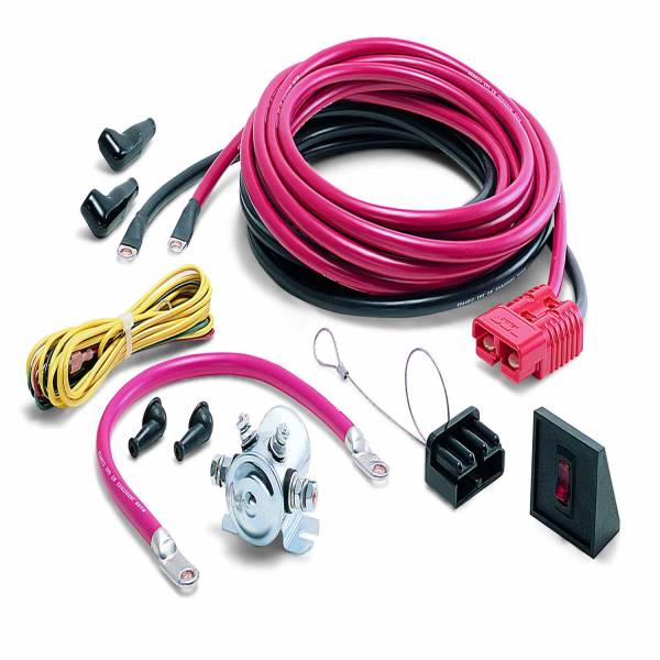 Warn - Warn Rear Mounting of Portable Winch 24 Ft Power Lead and Power Interrupt Kit 32966