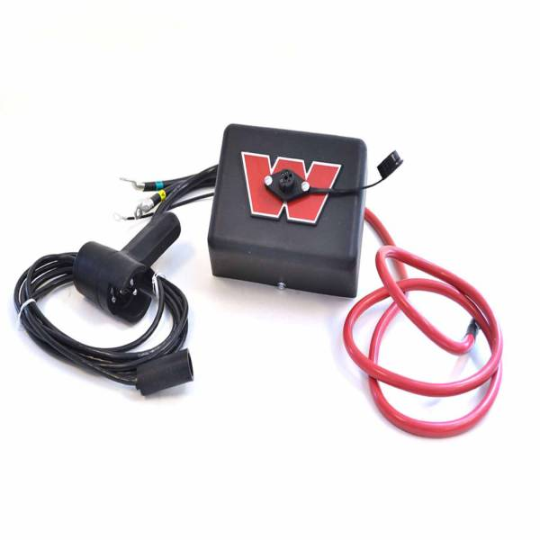 Warn - Warn M4500/ M5000/ M8000/ XD9000 Winches 12 Volt With 72 Inch Red Power Cable 38842