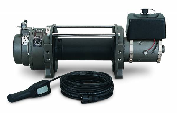 Warn - Warn Winch 12 Volt 15000 LB Cap Wire Fairlead Wired Remote Planetary Gear Drive 66032