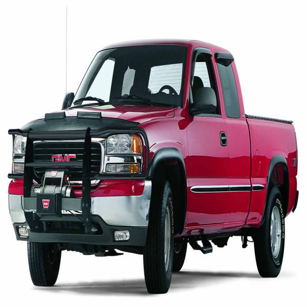 Warn - Warn With Insert Bars; Powder Coated; Black; Grille Guard Required 67730