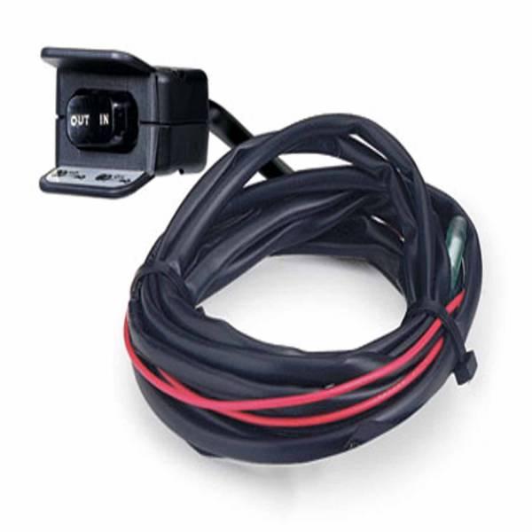 Warn - Warn RT/XT15 Series or 1.5ci Winch Handlebar Mounted With Switch & Mounting Hardware 69206
