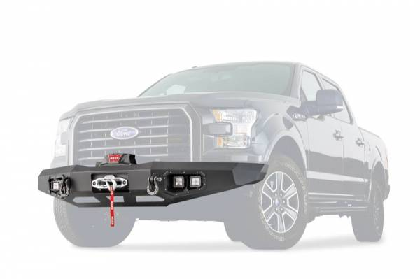 Warn - Warn Direct-Fit Baja Grille Guard With Ports for Sonar Parking Sensors if Applicable 100915