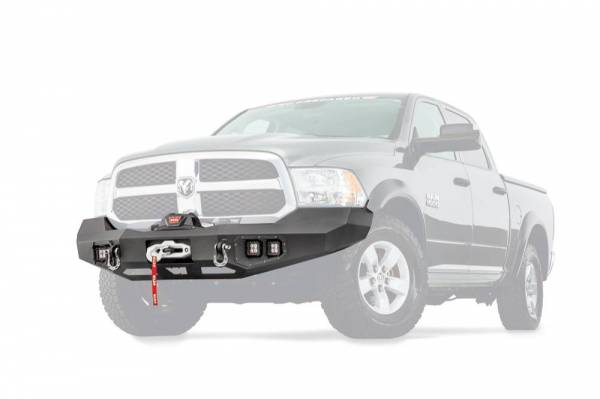 Warn - Warn Direct-Fit Baja Grille Guard With Ports for Sonar Parking Sensors if Applicable 100922