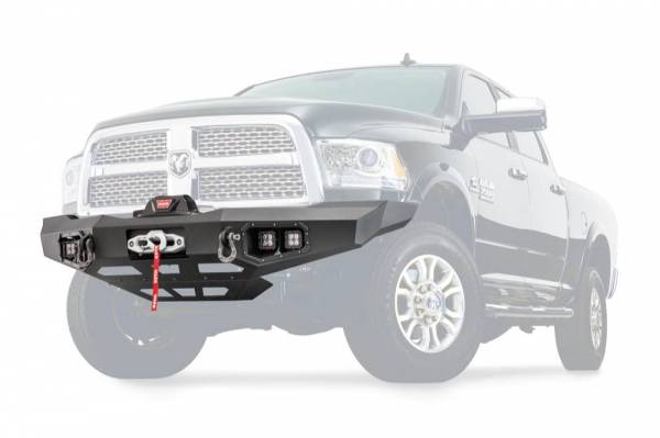 Warn - Warn Direct-Fit Baja Grille Guard With Ports for Sonar Parking Sensors if Applicable 100923