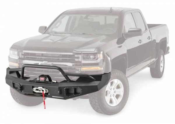 Warn - Warn Direct-Fit Baja Grille Guard With Ports for Sonar Parking Sensors if Applicable 100920