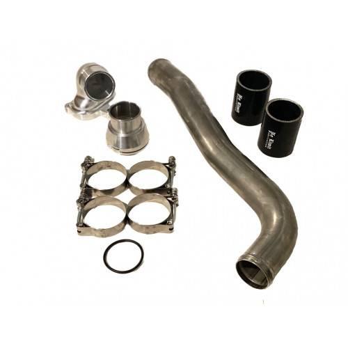 No Limit Fabrication - 6.7 Upper coolant hose upgrade kit