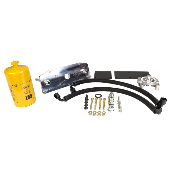 H&S Performance - 2017-2021 Ford 6.7L Power Stroke Lower Fuel Filter Upgrade Kit