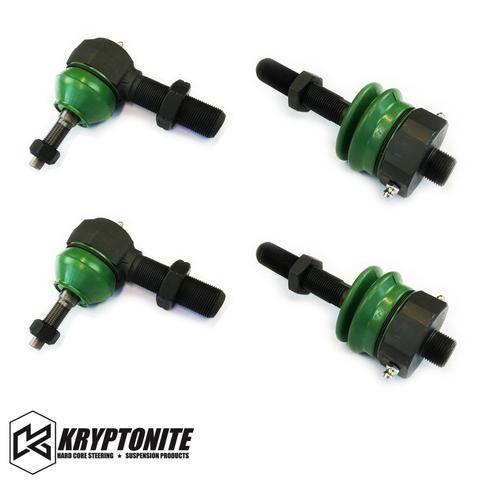 Kryptonite Products - KRYPTONITE TIE ROD REBUILD KIT FOR STOCK CENTER LINK 2011-2021