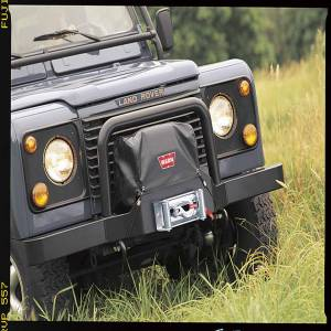 Warn - Warn 9.5xp XD9000 M8000 & M6000 Winches mounted on Classic Bumper Nylon-Backed Vinyl 13918 - Image 1