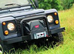 Warn - Warn 9.5xp XD9000 M8000 & M6000 Winches mounted on Classic Bumper Nylon-Backed Vinyl 13918 - Image 2