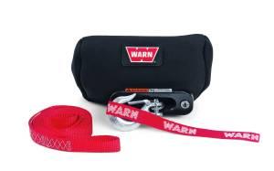 Warn - Warn 16.5ti M15000 & M12000 Winches Mount Trans4mer Classic Bump Flatbed Mount Vinyl 15639 - Image 2