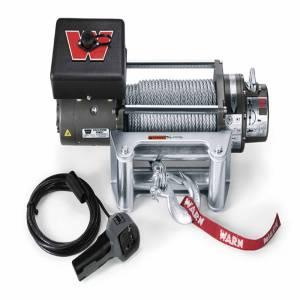 Warn - Warn 12 Volt 8000 LB Cap 100 Ft Wire Rope Roller Fairlead 26502 - Image 1