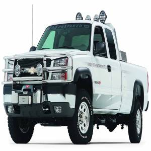 Warn - Warn With Insert Bars; Powder Coated; Black; Grille Guard Required 39190 - Image 1