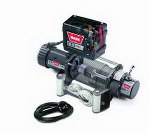 Warn - Warn Winch 12 Volt 9500 LB Cap 100 Ft Wire Rope Roller Fairlead Wired Remote 68500 - Image 3