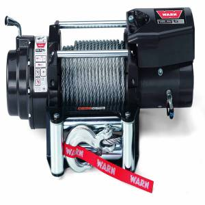 Warn - Warn 12 Volt 16500 LB Pull Line Cap 90 Ft Wire Rope Roller Fairlead Wired Remote 68801 - Image 2