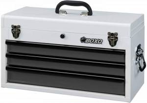 Boxo - 185-Piece Metric and SAE Tool Set with White 3-Drawer Hand Carry Box - Image 2