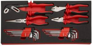 Boxo - 185-Piece Metric and SAE Tool Set with White 3-Drawer Hand Carry Box - Image 7