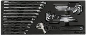 Boxo - BOXO USA Heavy Duty 113 Piece Metric Tool Set with 2 Drawer Hand Carry Tool Box - Matte Black - Image 3