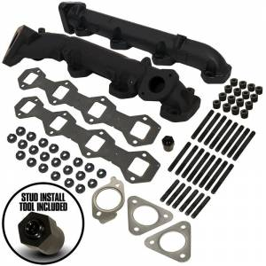 BD Diesel - 6.7L POWERSTROKE EXHAUST MANIFOLD KIT - FORD 2015-2019 F250 / F350 PICK-UP & 2017-2019 F350 / F450 / F550 CAB-CHASSIS - Image 1